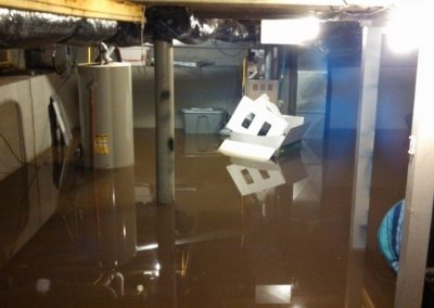 Flooded basement - New York Electrical Inspection Agency