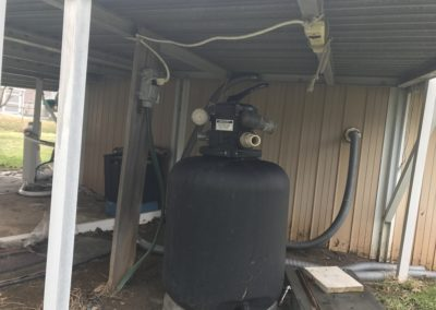 Pool pump outlet, conduit, cover, and cord - Violation - New York Electrical Inspection Agency
