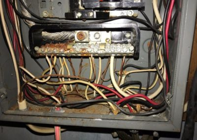 Water Damaged Electrical Wiring - New York Electrical Inspection Agency